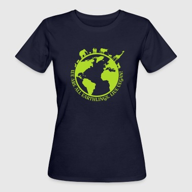 Earhtlings - Frauen Bio-T-Shirt