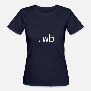 Back Chat wb - Welcome back - Women's Organic T-Shirt