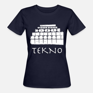 Acid Techno Tekno Soundsystem Teuf Rave Free Party Save the - Frauen Bio-T-Shirt