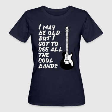 Many bands have seen concerts Rock Age Metal - Women's Organic T-Shirt