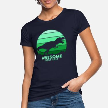 Awesome Since Awesome Since 2014 - Women's Organic T-Shirt
