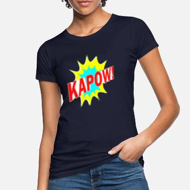 Crash Bumm Kapow - Women's Organic T-Shirt