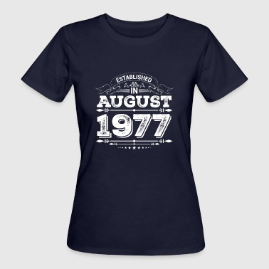 Established in August 1977 - Women's Organic T-Shirt