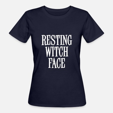 Cheap Trick Resting Witch Face White - Camiseta ecológica mujer