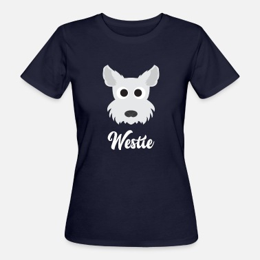 Westie Westie - West Highland White Terrier - T-shirt ecologica da donna