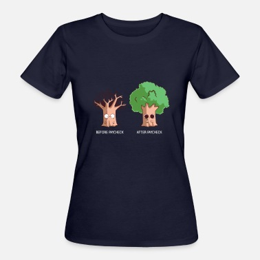 Salary Before After Paycheck Money Salary Salary - Women's Organic T-Shirt