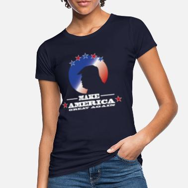 America Make America great again Donald Trump USA - Women's Organic T-Shirt