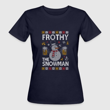 Frosty The Snowman Frothy The Snowman Frosti the snowman - Women's Organic T-Shirt