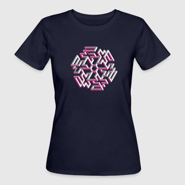 Impossible Figures Impossible Figures 47B - Women's Organic T-Shirt