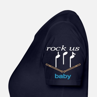 Mr. Soulboater rock us baby - Frauen Bio-T-Shirt