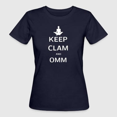 KEPP CLAM AND OMM - Women's Organic T-shirt