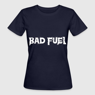 Bad Fuel logo - Women's Organic T-shirt