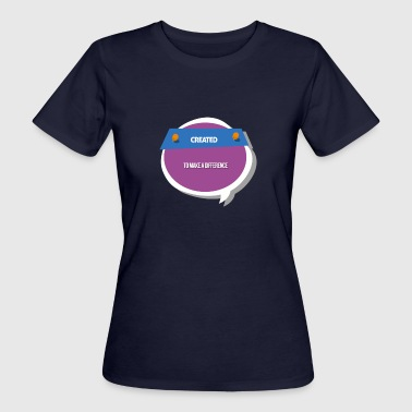 Tee Difference 3 - Women's Organic T-shirt