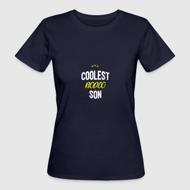 Distressed - COOLEST SON RODEO - T-shirt bio Femme