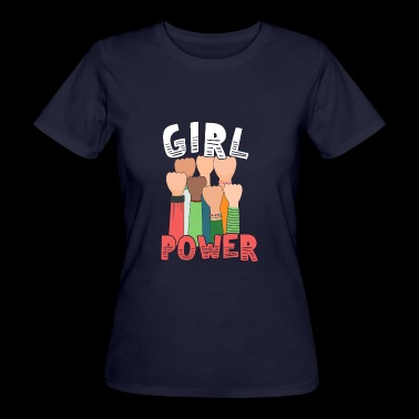 Girl Power Great Feminist - Women's Organic T-shirt