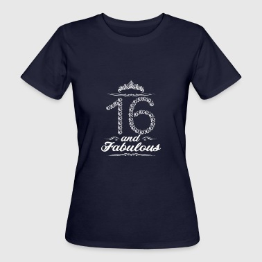 16 years 16th birthday gift - Women's Organic T-shirt