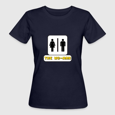 WC-Man YouTube - T-shirt ecologica da donna