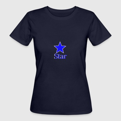 blue Star - T-shirt ecologica da donna