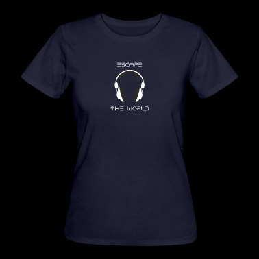 Equalizer Musik Headset Sound Beats Rhytmus Beat - Frauen Bio-T-Shirt