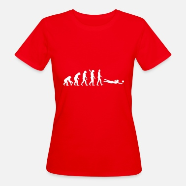 Beachvolleyball Evolution Beachvolleyball - Frauen Bio T-Shirt
