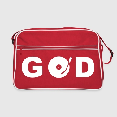 GOD is a DJ - Torba retro