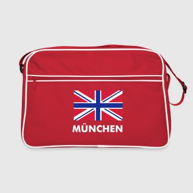 Red Union Jack - Torba retro