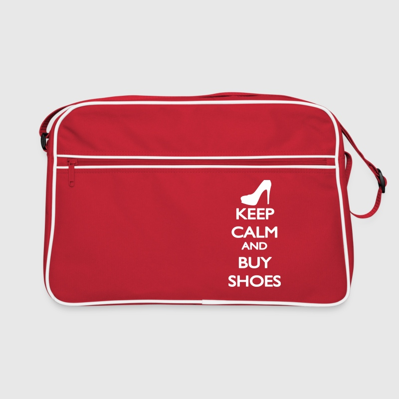 Keep Calm and buy Shoes - Sac Retro