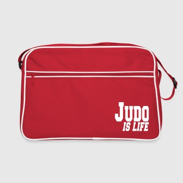 judo is life - Bandolera retro