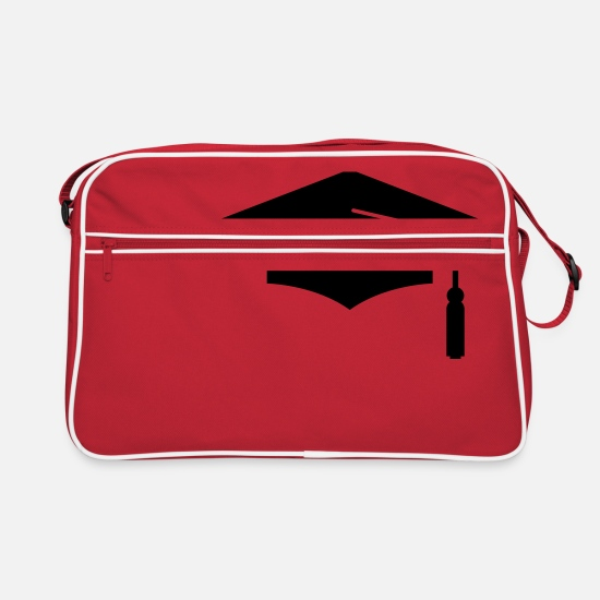 School Bags & Backpacks - graduation - Retro Bag red/white
