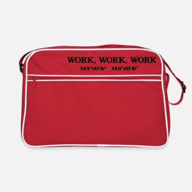 Worker Work Work - Retrotasche