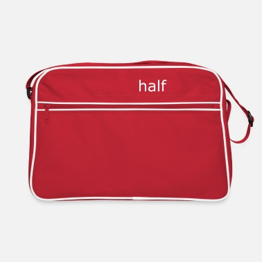 Occupation half full (for mugs and bags) - Retro Bag