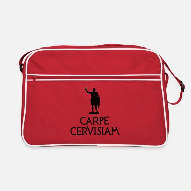Carpe Cervisiam Seize the beer funny beer alcohol - Retro Bag