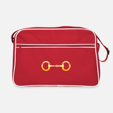 Snaffle Bit Gold - Retro Bag