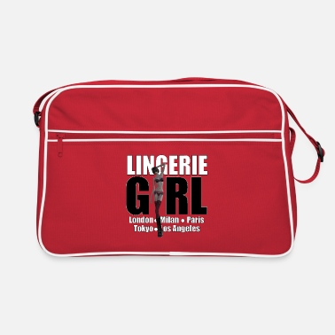 Trend Underwear The Fashionable Woman - Lingerie Girl - Retro Bag