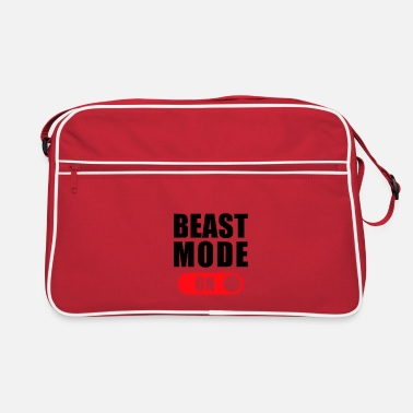 Beast Mode BEAST MODE ON! - Retro Bag
