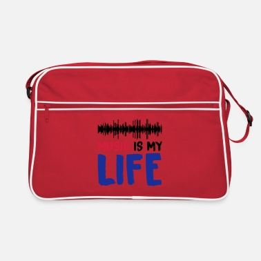 Dubstep music is my life 002 - Retro Bag