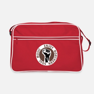 Northern Soul 3 colors - Enjoy Northern Soul Music - nighter keep the faith - Retro Bag