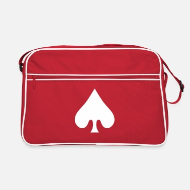 Cards poker card / spades - Sac vintage