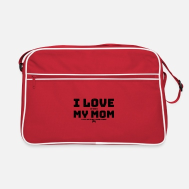 Inspiration I Love It When My Mom Let's Me Play Video Games - Retro Bag