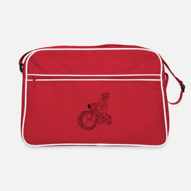 American Indian Native motorbike Indians - Retro Bag