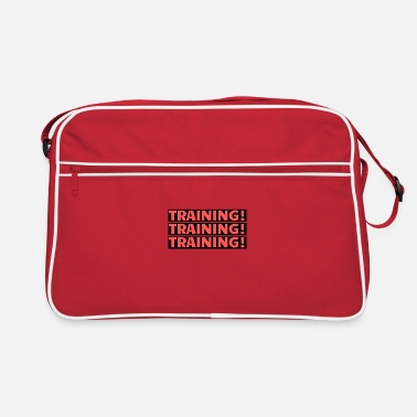 Training Training Training Training - Retro Bag