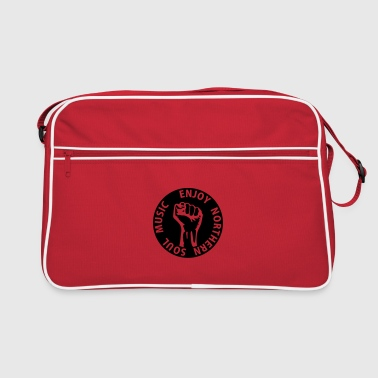 1 colors - Enjoy Northern Soul Music - nighter keep the faith - Retro Bag