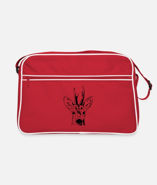 Stag Bags & Backpacks - Ree - Retro Bag red/white