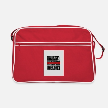 Corporate Red Gym Shirt - Retro Bag