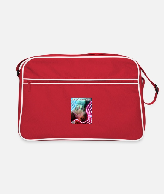 Neon Bags & Backpacks - Neon Dreams - Retro Bag red/white