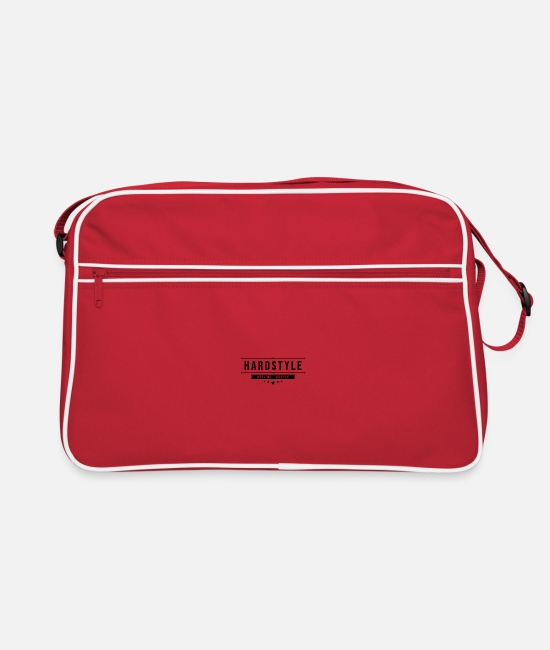 Hardstyle Bags & Backpacks - Hard style - Retro Bag red/white