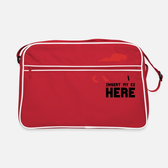 Girlfriend Bags & Backpacks - EX BOYFRIEND - Retro Bag red/white