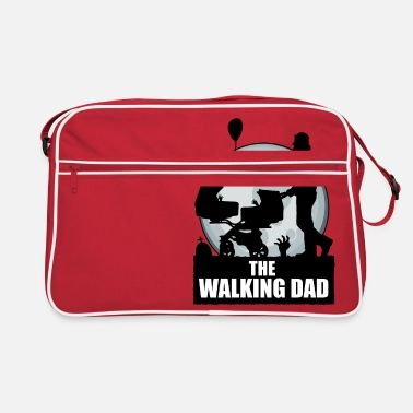 The Walking Dad Zwillinge THE WALKING DAD zombie - Retrotasche
