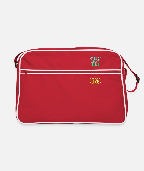 Operating Department Practice Bags & Backpacks - Awesome ODP - Retro Bag red/white