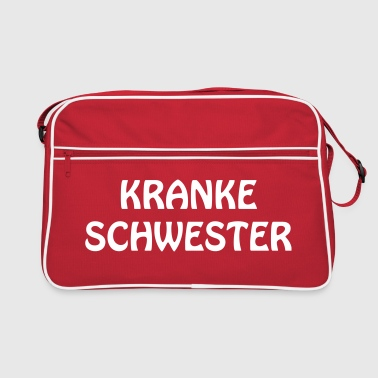 Text, saying, offense, Sex, joke, Fun, Joke, T-shirt, provocation, annoyance, rage, puts on, Sexy, slogan,german, deutsch  - Retro Bag